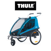 Bike trailer THULE Coaster XT, 2019, blue