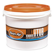 Twin Air Cleaning Tub, including Cages Orange + Black (10 liter)