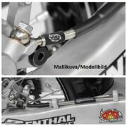Moto-Master Brake line Rear KTM, Husqvarna: with linkage system
