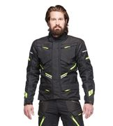 Sweep Jacket GT Adventure 2 WP, Black/Yellow
