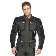 Sweep Textilejacket GT Adventure WP, black/grey