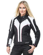 Sweep Textilejacket Lioness WP Lady, black/white/pink