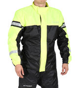 Sweep Rainjacket Monsoon 3, black/yellow