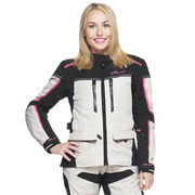 Sweep Textilejacket Charisma WP Lady, white/black/pink
