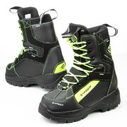Sweep Yeti snowmobile boots black/yellow