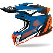 Airoh Helmet Striker Axe orange/blue matt