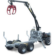 ATV GRAPPLE CRANE 350-II Hydraulic Roll drive