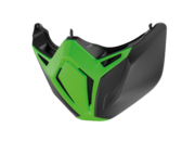 Shark Street Drak mask, green/black