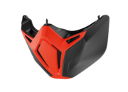 Shark Street Drak mask, orange/black