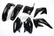 UFO Plastic kit 5-parts Black CRF450 02-03