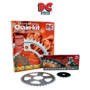 The chain sprocket Package DC-AFAM: Kawasaki ER500 1996-2006