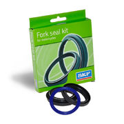 Front fork oil seal and dust cover SKF, black: Showa 45 x 58 x 11.2