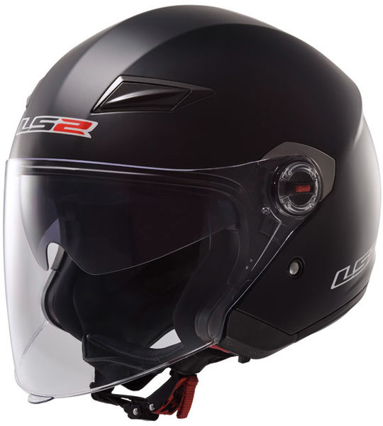 LS2 helmet OF569 TRACK SINGLE MONO matt black