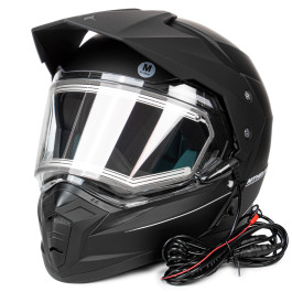 MT Duo Sport, matt black, with electric visor